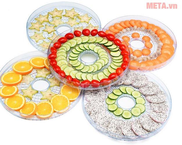 Máy sấy hoa quả, thực phẩm đa năng Tiross TS9682 có chất liệu cao cấp