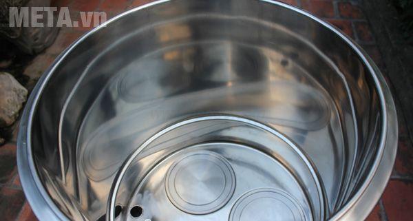 Nồi nấu lẩu điện NP50 đun nấu bằng mâm nhiệt