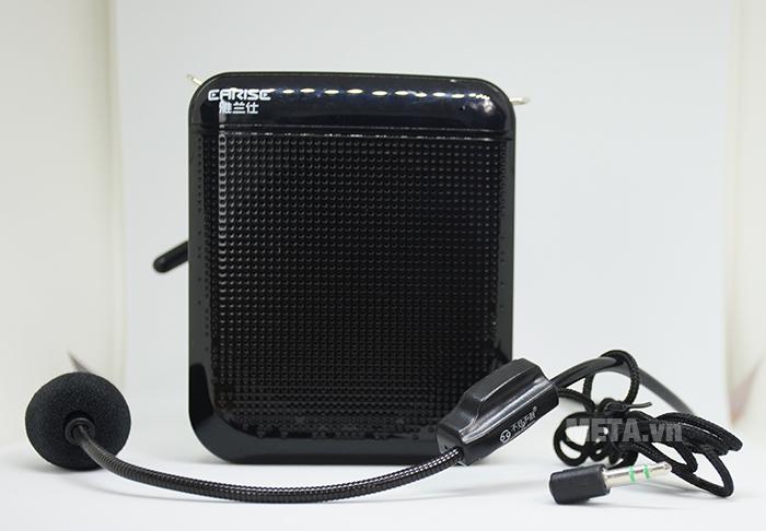 Micro có dây tích hợp với máy trợ giảng thông qua jack cắm 3.5mm
