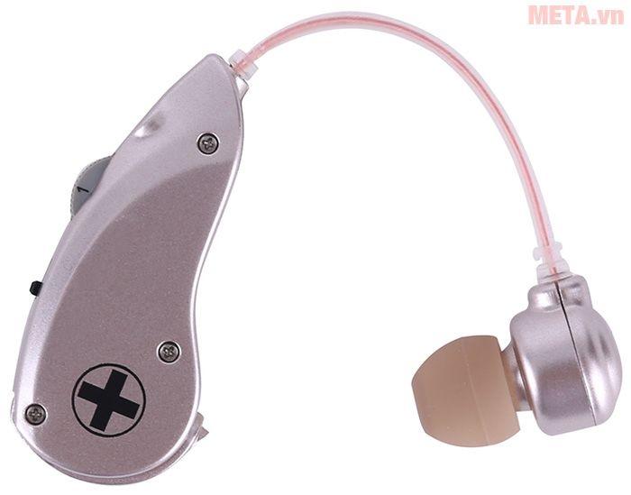 Máy trợ thính không dây Mimitakara UP-6B5 bảo quản trong hộp nhỏ gọn
