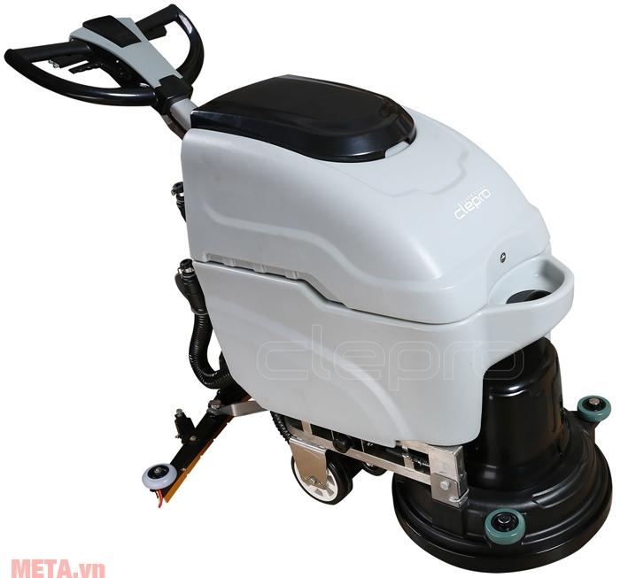 Máy chà sàn liên hợp Clepro C45E có tốc độ làm sạch lên đến 1910 m2/h