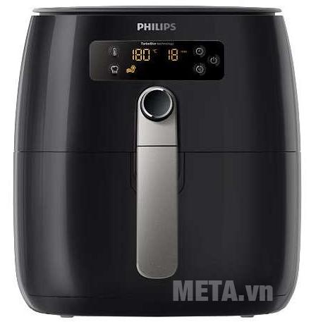 Nồi chiên không dầu Philips HD9643 sử dụng công  nghệ TurboStar