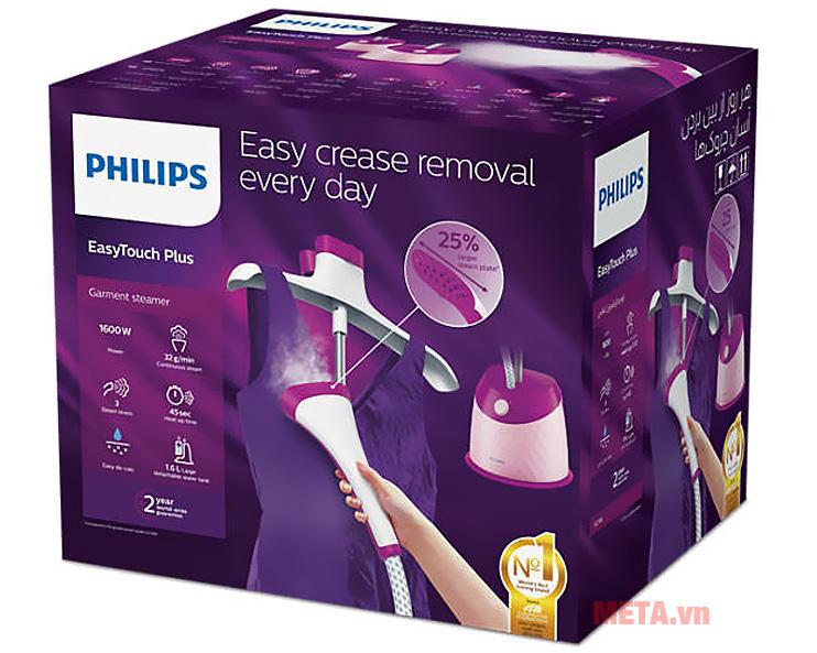 Hộp đựng bàn là hơi nước đứng Philips GC514