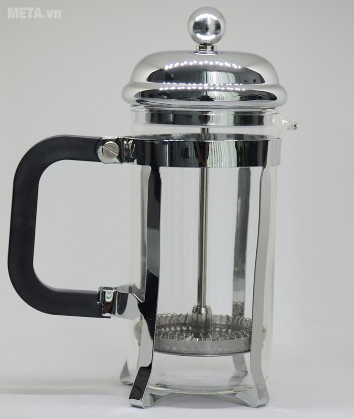 Hình ảnh thực tế về máy pha cà phê kiểu Pháp French Press 350ml