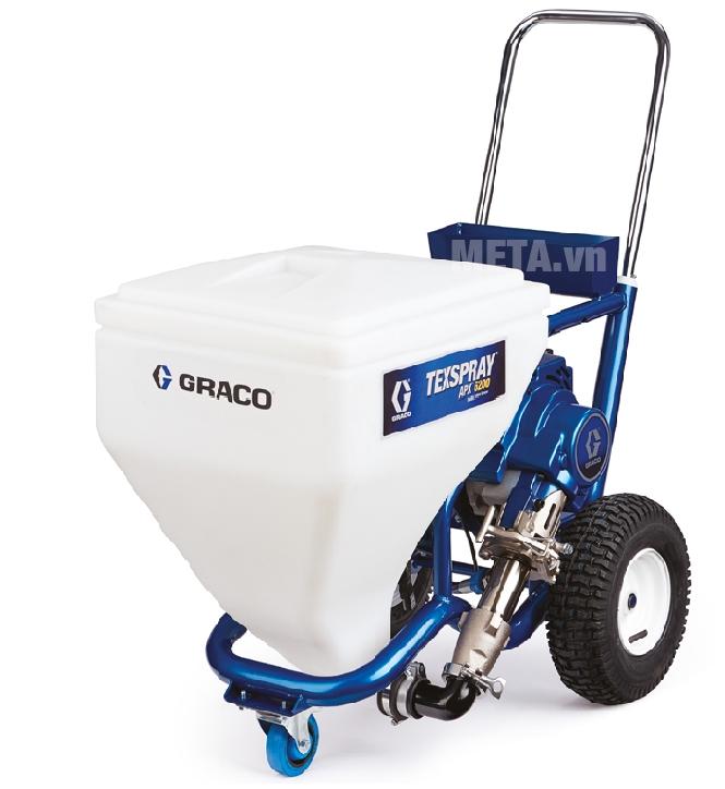 Máy phun sơn Graco APX6200 có trang bị bánh xe di chuyển