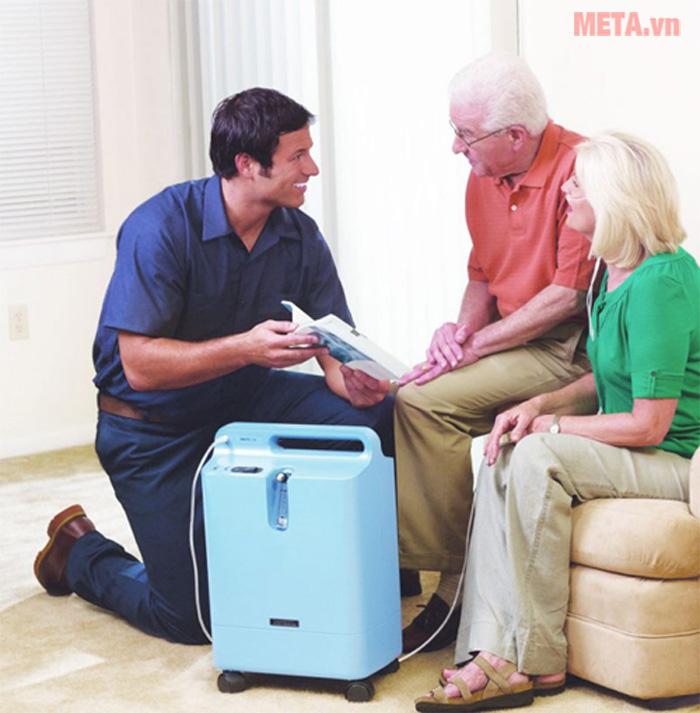Máy tạo oxy Philips EverFlo phù hợp để sử dụng điều trị tại nhà