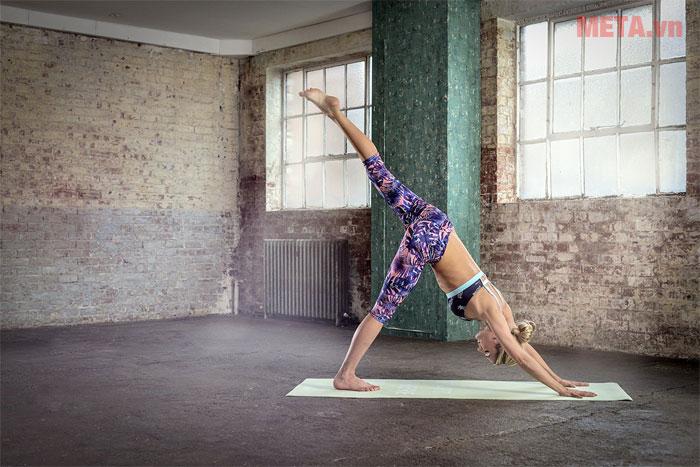 Thảm tập yoga Reebok 2 mặt RAYG-11030ST