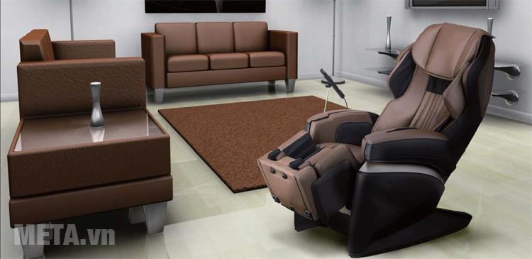 Ghế massage toàn thân Fujiiryoki JP-1000 phù hợp với nhiều không gian nội thất