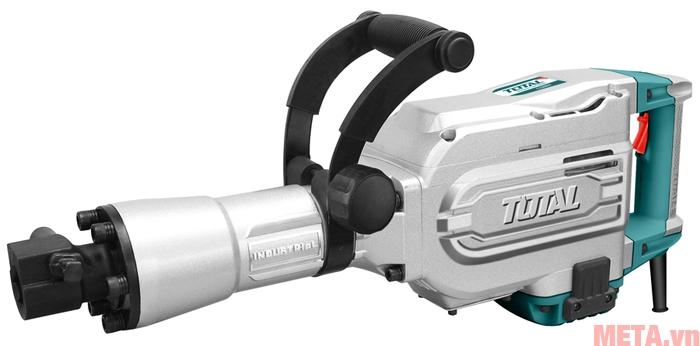 Máy đục bê tông Total TH215456 có cò máy tích hợp ngay trên tay cầm