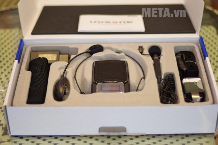 Máy trợ giảng Unizone 9580 F3 kèm micro không dây