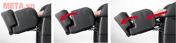 Ghế massage toàn thân Fujiiryoki EC-3900 với chức năng tùy chỉnh