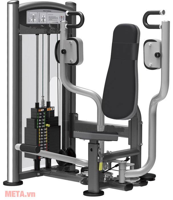 Máy tập cơ ngực Impulse IT9304 có ghế ngồi được bọc đệm cao cấp
