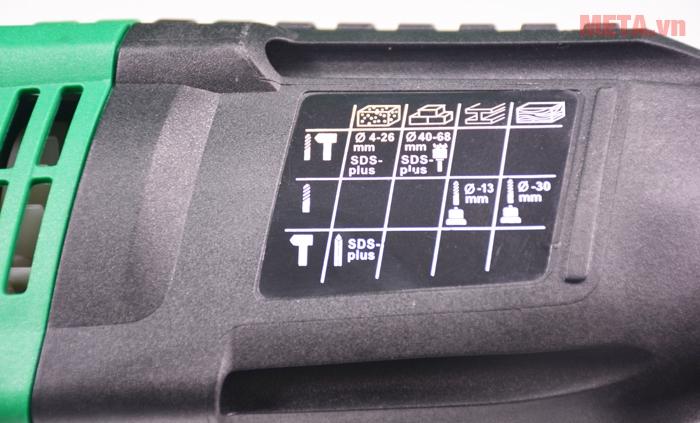 Hướng dẫn sử dụng với máy khoan lõi bê tông Feg