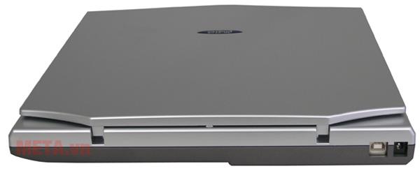 Cổng kết nối của máy scan hộ chiếu Plustek OS550 Plus