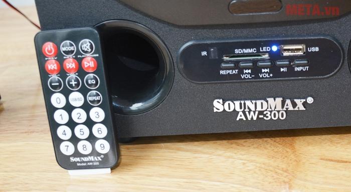 Loa máy tính Soundmax AW 300 có điều khiển từ xa