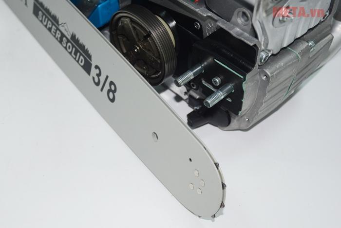Máy cưa xích Oshima có nòng dài 45.2mm