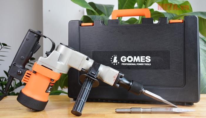 Máy đục bê tông Gomes GB-5814 (38mm) màu đỏ