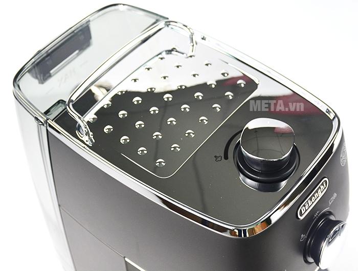 Đĩa hâm nóng tách cà phê thiết kế trên đầu máy