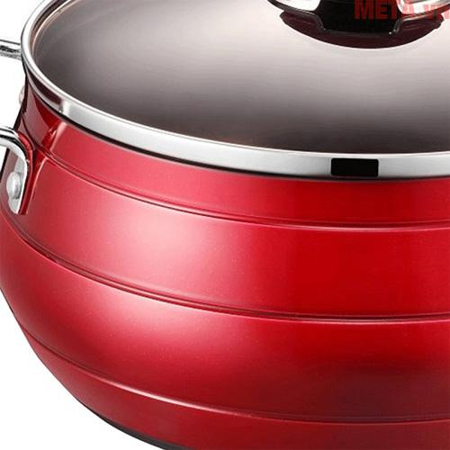 Quai nhựa cách nhiệt, giúp bạn có thể di chuyển và nấu ăn dễ dàng, không lo bị bỏng