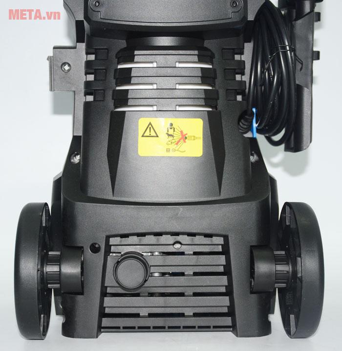 Máy phun xịt rửa cao áp New Kachi ABW có bánh xe di chuyển dễ dàng