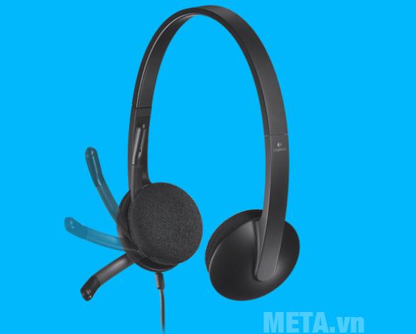 Tai nghe có dây Logitech H340 có micro đi kèm tiện lợi