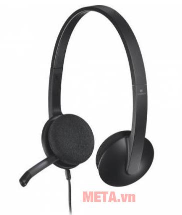 Tai nghe có dây Logitech H340 đem đến sự thoải mái cho người dùng