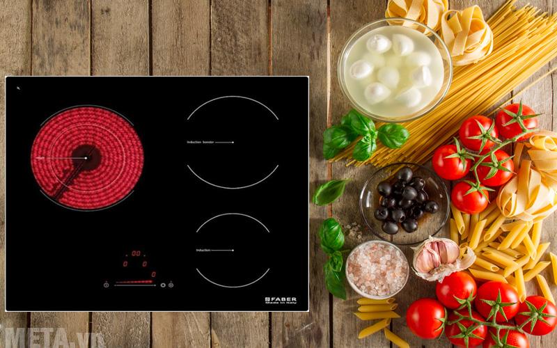 Bếp từ hồng ngoại kết hợp Faber FB-60H2I giúp bạn nấu nướng dễ dàng hơn