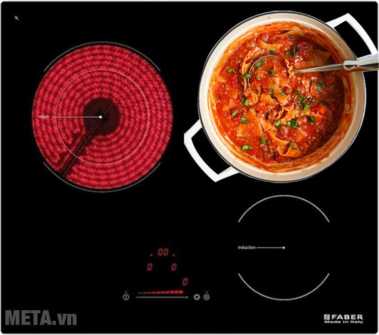 Bếp từ hồng ngoại kết hợp Faber FB-60H2I an toàn đối với trẻ nhỏ