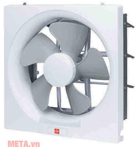 Quạt hút gắn tường KDK 30AUH trang bị động cơ tụ điện cho hiệu suất cao