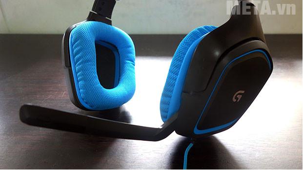 Tai nghe chơi game Logitech G430 được thiết kế giúp bạn dễ dàng điều chỉnh đa hướng