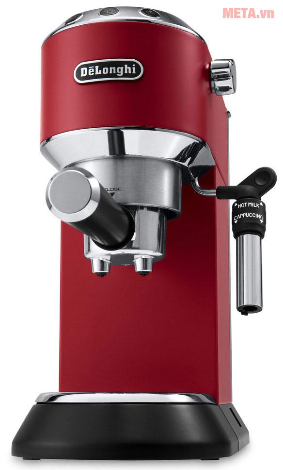 Máy pha cà phê Delonghi EC685.R có thiết kế tiện lợi
