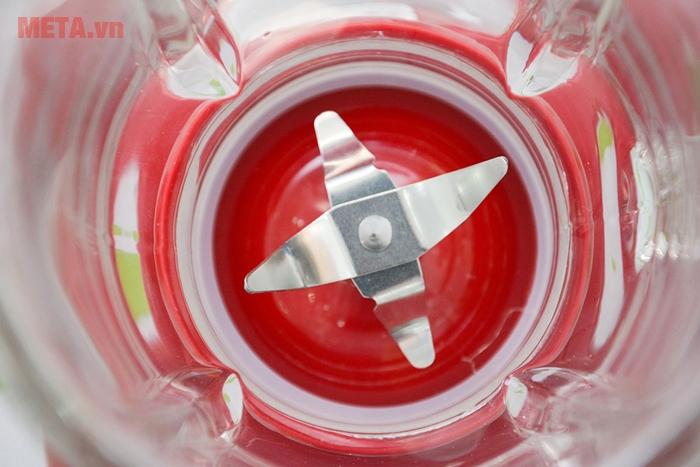 Máy xay sinh tố đa chức năng Sunhouse SHD5115 có lưỡi dao 4 cánh sắc bén