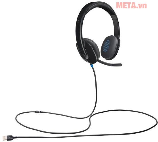 Hình ảnh tai nghe có mic Logitech Headset H570e