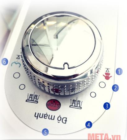 Vòi rửa vệ sinh thông minh LUVA Bidet LB202 giúp vệ sinh sạch sẽ khi đi nặng