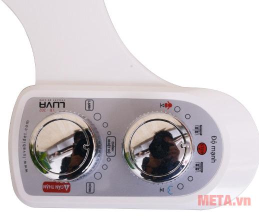 Vòi rửa vệ sinh thông minh LUVA Bidet LB202 dùng cho gia đình