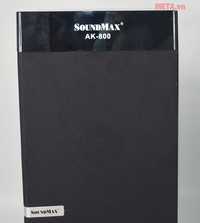 Bộ loa vi tính Soundmax AK800 tăng cường âm Bass mạnh mẽ đáp ứng nhạc sống