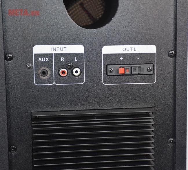 Loa vi tính Soundmax AK800 cho chất lượng âm thanh cực tốt, đáp ứng được dải tần số rộng xuống đến 20.000Hz