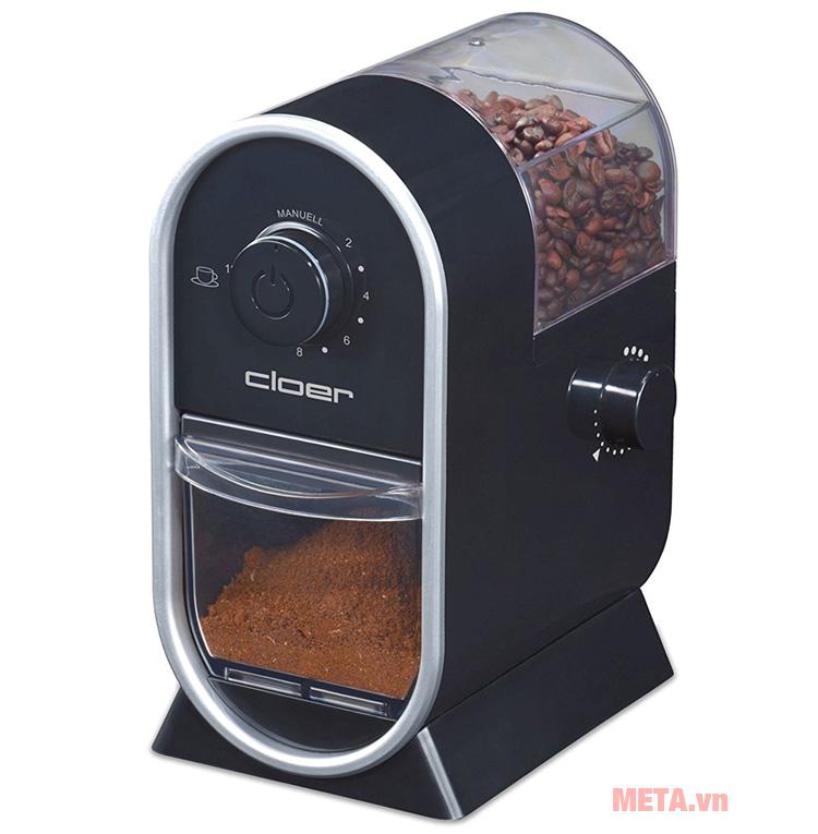 Máy xay cà phê Cloer 7560 có thiết kế nhỏ gọn