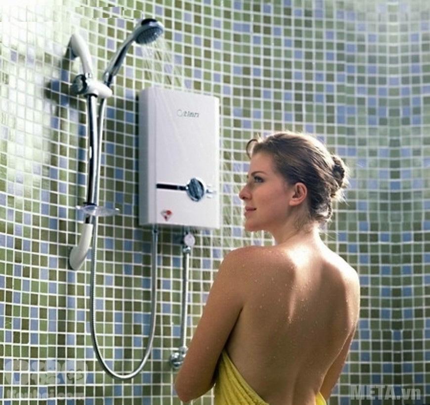 Bình nóng lạnh giúp đun nước nóng nhanh chóng tiện ích