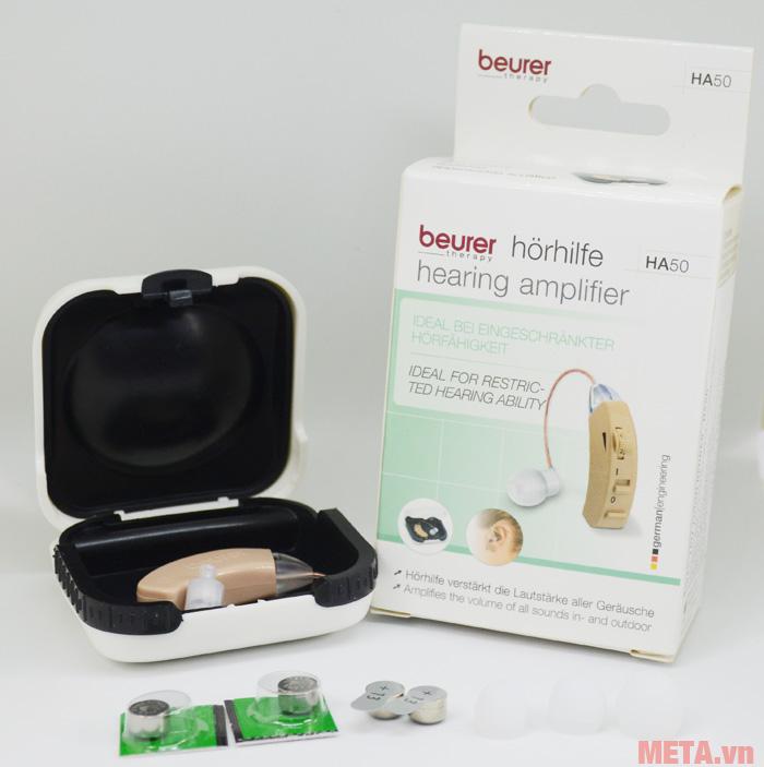Máy trợ thính Beurer HA50 kèm pin