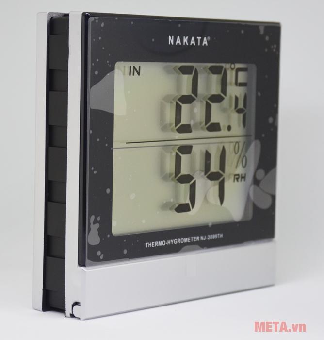 Nhiệt ẩm kế Nakata NJ-2099-TH cho kết quả vô cùng chính xác