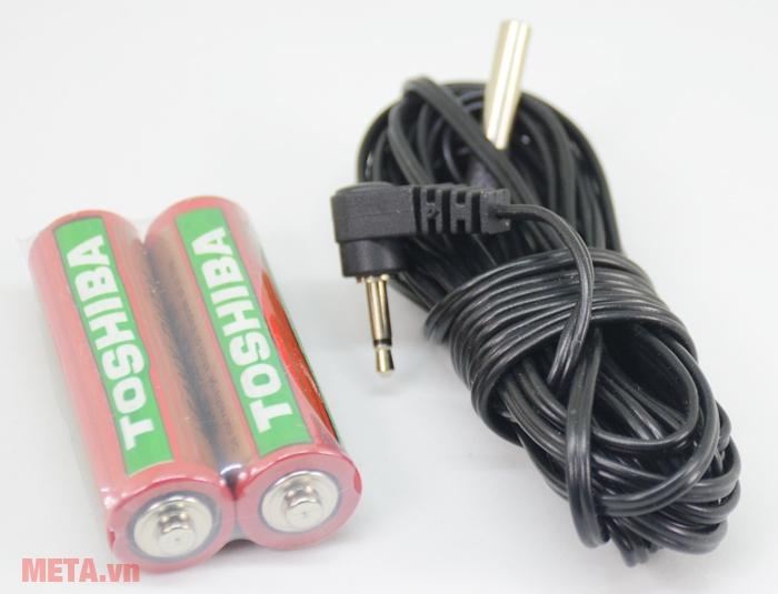 Nhiệt ẩm kế Nakata NJ-2099-TH dùng pin