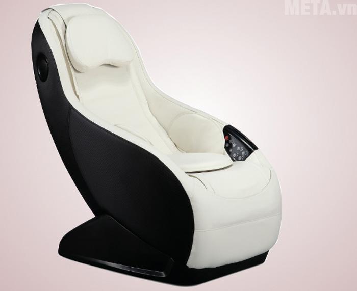 Ghế massage mini thông minh Maxcare Max682 màu trắng