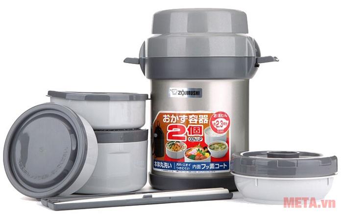 Bình đựng thức ăn Zojirushi SL-JAF14 sản xuất tại Thái Lan