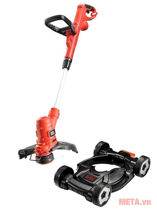Máy cắt cỏ cầm tay Black&Decker GL4525CM-B có bánh xe đẩy giúp cắt cỏ nhẹ nhàng hơn