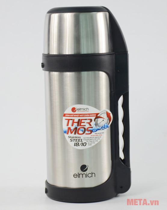 Bình giữ nhiệt Elmich 2246950 dùng đựng nước nóng hay nước lạnh