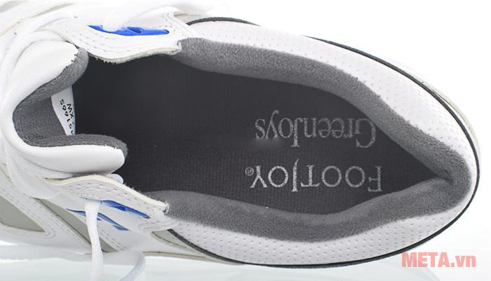 Giày golf nam FootJoy Greenjoy Spikeless 45166 có kiểu buộc dây
