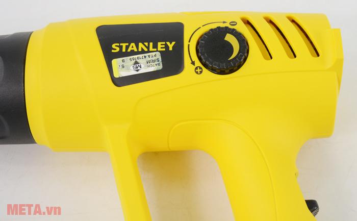 Máy thổi nóng Stanley Stel 670 sử dụng cực kỳ đơn giản