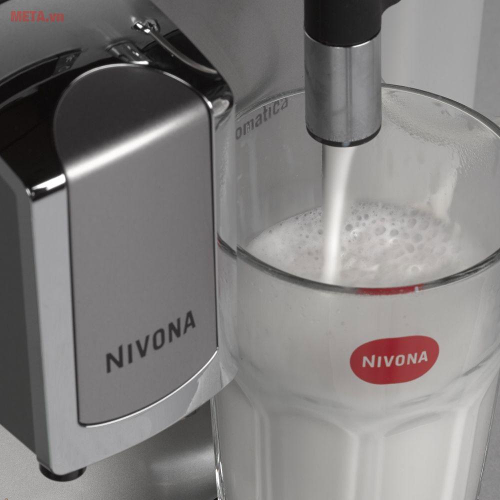 Máy pha cà phê tự động Nivona 520 có vòi tạo bọt