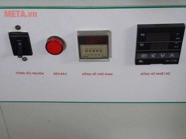 Máy sấy Ánh Dương AD mini 4 với các nút điều chỉnh